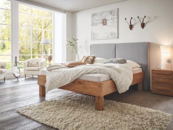 Ivio Almeno XL Bett – Oak-Wild Cadro 23
