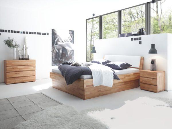Practico Box Varus Bett – Wood-Line Premium 18