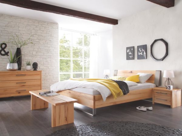 Indus Sion Bett – Wood-Wild Solido 23