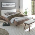 Airo Cemoa Bett – Oak-Line Modul 18 stone grey