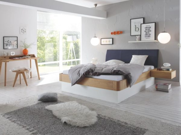 Practico-Ron Box Ripo Bett – Oak-Bianco Modul 18