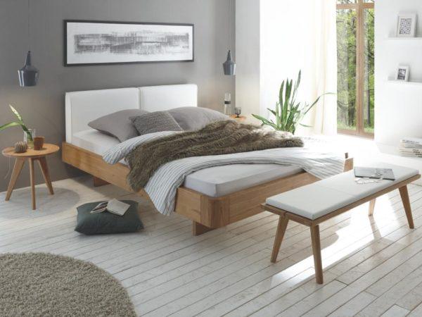 Airo Cemoa Bett – Oak-Bianco Modul 18