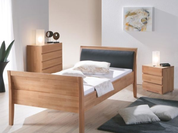Ascona Bett mit Polster – Comfort