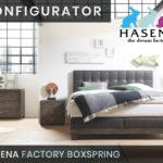Konfigurator: Factory Boxspringbett