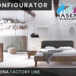 Konfigurator: Factory-Line Massivholzbett