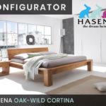 Konfigurator: Cortina Massivholzbett