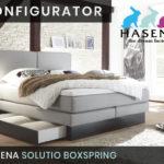 Konfigurator: Solutio Boxspringbett