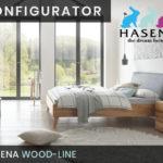 Konfigurator: Wood-Line Massivholzbett