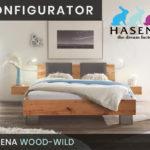 Konfigurator: Wood-Wild Massivholzbett