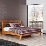 Fany Massivholzbett mit Bettkasten