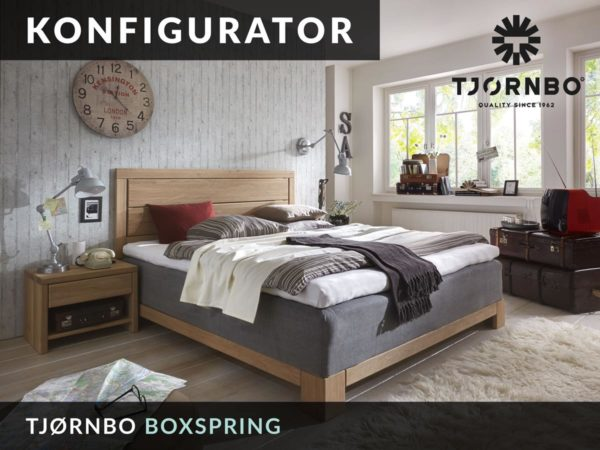 Konfigurator: Tjoernbo Boxspring