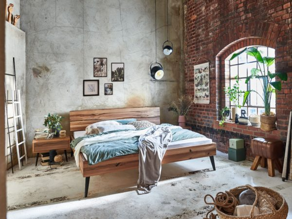 Vilma Massivholzbett – Modern Sleep