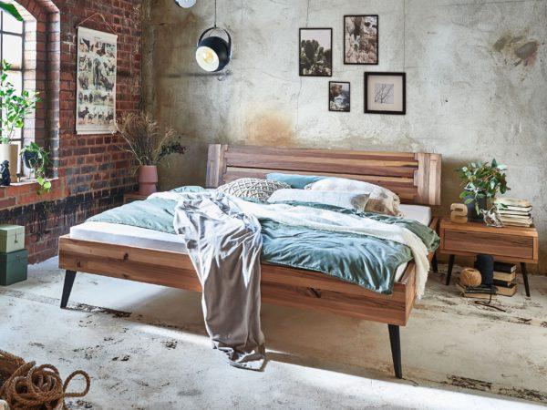 Lily Massivholzbett – Modern Sleep
