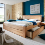 Freja Massivholzbett mit Schubladen – Easy Sleep II