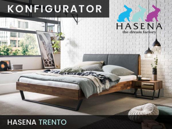 Konfigurator: Trento Massivholzbett