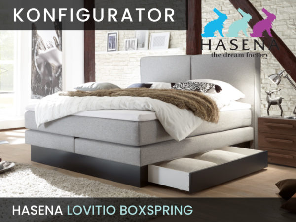Konfigurator: Lovitio Boxspringbett