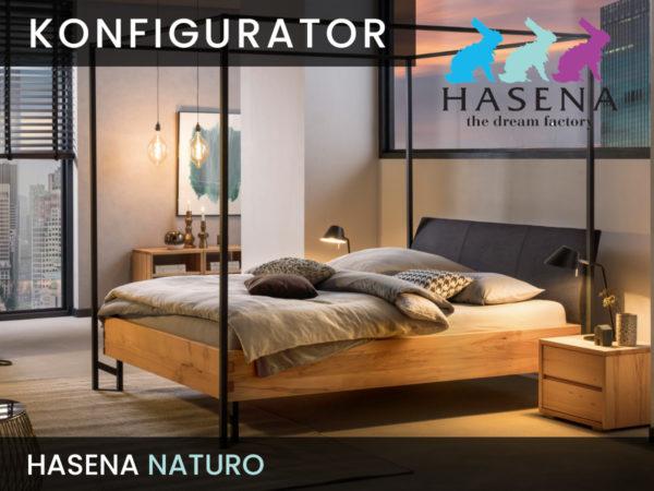 Konfigurator: Naturo-Line Massivholzbett