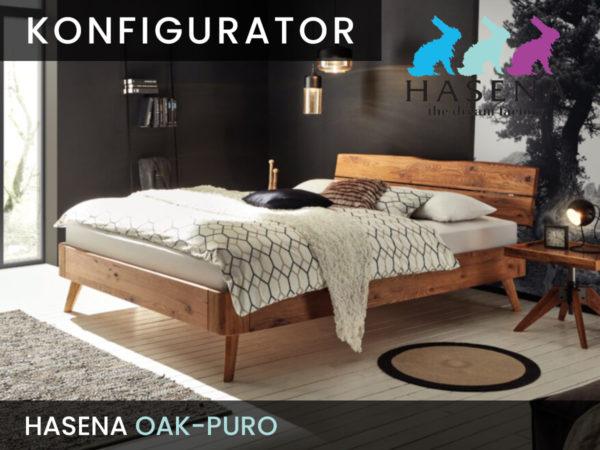 Konfigurator: Oak-Puro Massivholzbett