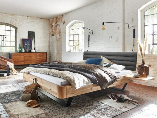 Bent Massivholzbett – Easy Sleep I